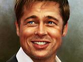 Brad Pitt in Oils