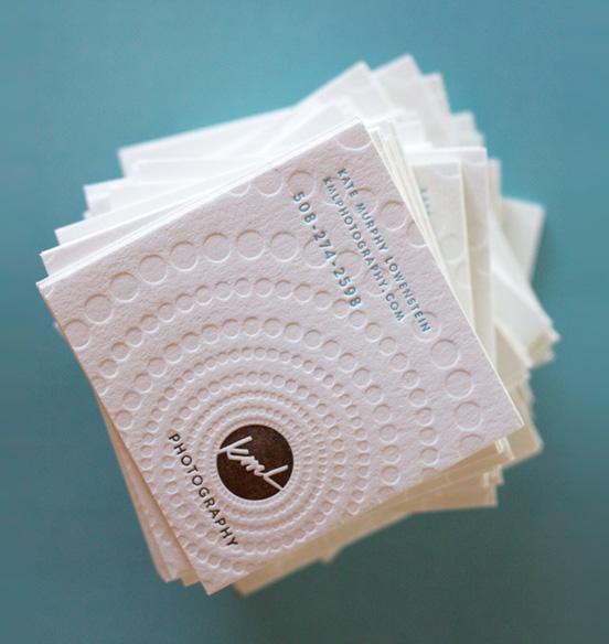 Dingbat Letterpress Card