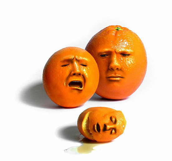 Mourning Oranges