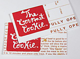 The Gourmet Tookie business cards