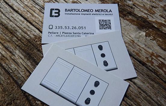 Bartolomeo business card