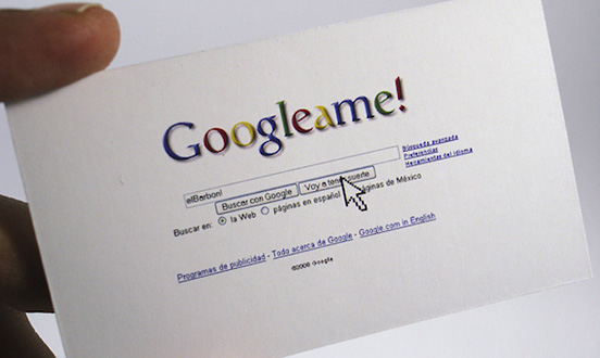 Googleame Business Card