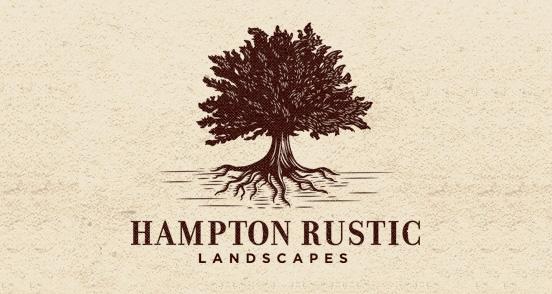 Hampton Rustic Logo Design The Design Inspiration