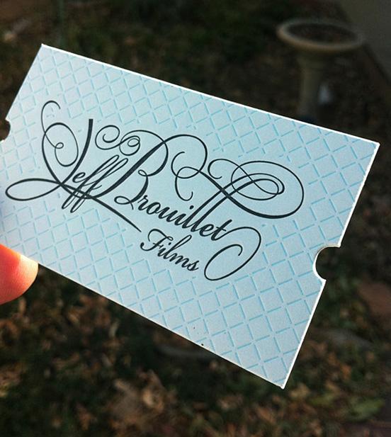 Jeff Brouillet business card