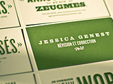 Jessica genest business card