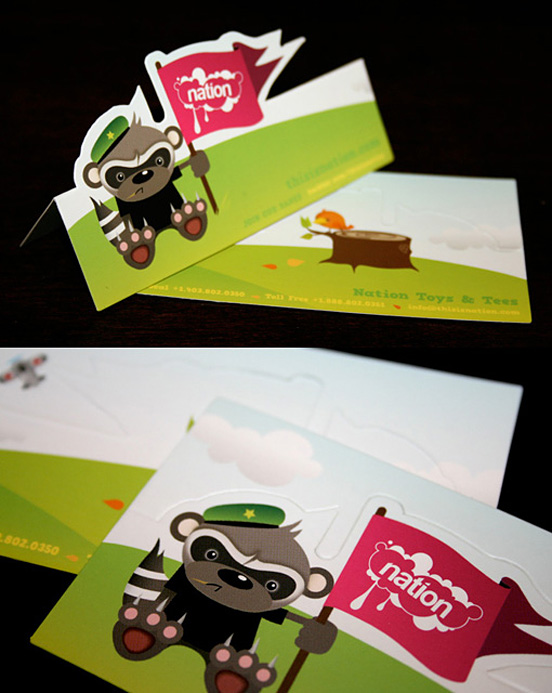 Nation Toys Business Cards