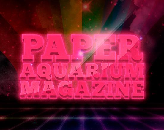 Paper Aquarium Poster