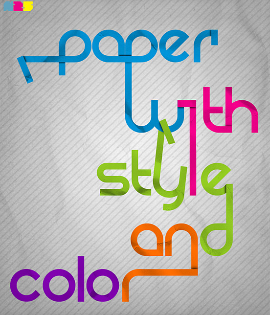 Paper with style and color