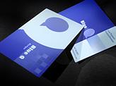 Slim Plastic Business Card