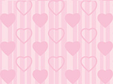 Stripes and Love Hearts