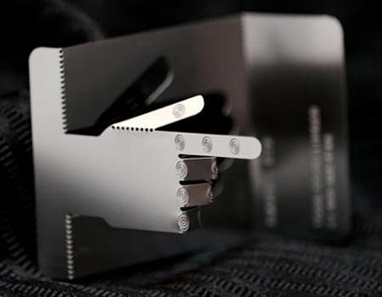 Hand and Eye Business Card