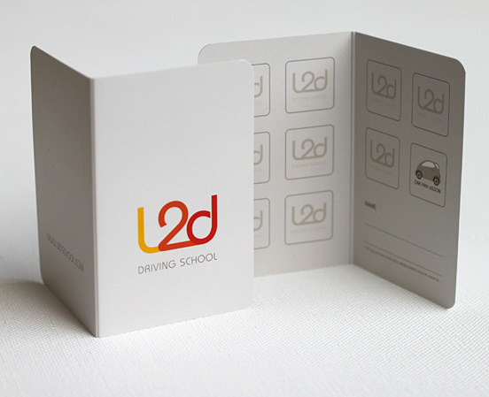 L2D driving School Cards
