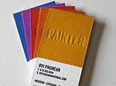 Ovi Prunean Painter Business Card