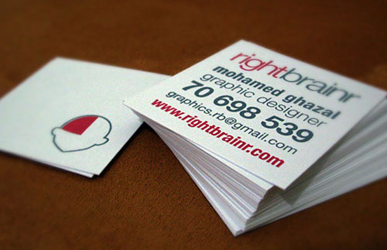 Rightbrainr Business Card