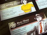 The Flores Shop Business Cards