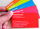 The population business card