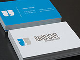 Radioscope business card