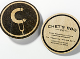 Chet's BBQ ID Business Card