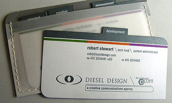 Diesel Design Business Card