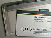 Diesel Design Business Card