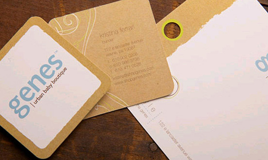 Genes Business Card