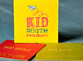 Kid Zenith Business Card