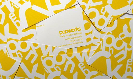 Popworks Business Card