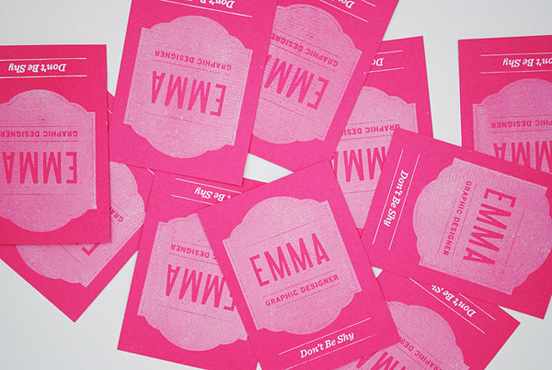 EMMA Business Cards