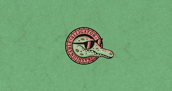 Fashionable Alligator
