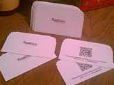 FoodExtra Business cards