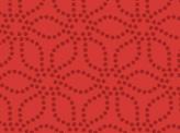 Modern Floral Red