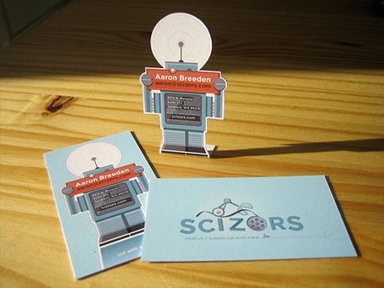 Scizors Business Card