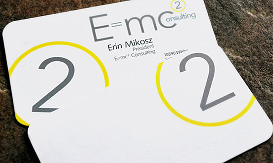 Erin Mikosz Business Card