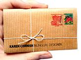 Karen Cornish Business Card