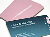 Rosa Gonzales Business Card