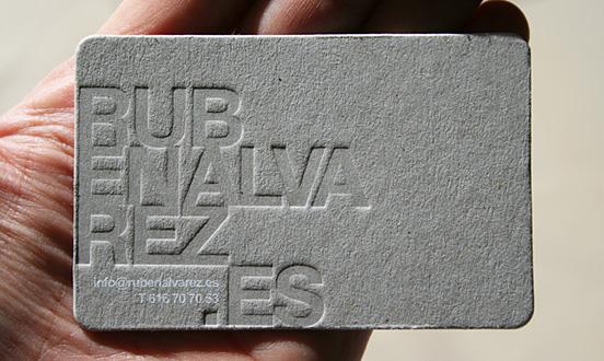 Ruben Alvarez Business Card