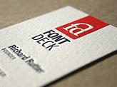 Fontdeck Business Card