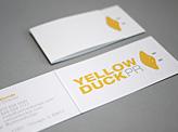 Yellow Duck PR Business Card