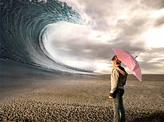 Big wave in the desert