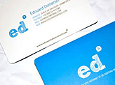 Edouard Domenici Business Card