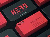 Hero business card
