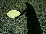 Shadow Frisbeeing