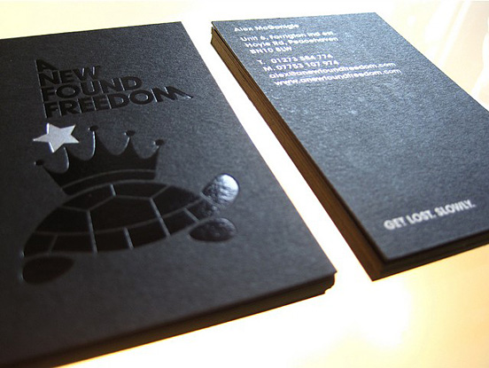 A New Found Freedom Business Cards