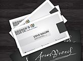Bronck's Beer Business Cards