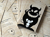 Guardian Fluffy Business cards