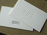 Milk Business Cards