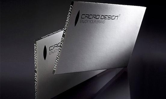 Cacao Design business card