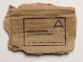 Andrea Romani Business Card