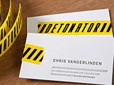Detonator Business Cards