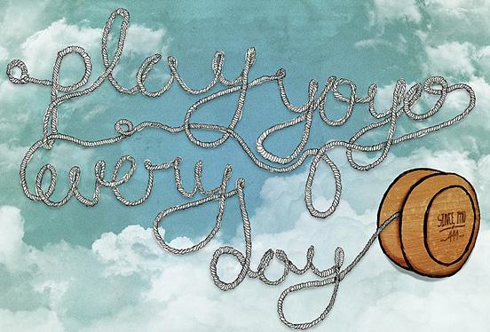 Play yoyo every day